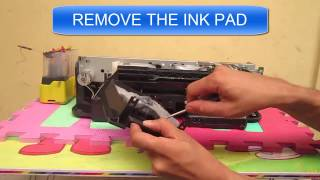 Epson ink pad is at the end of its service life error