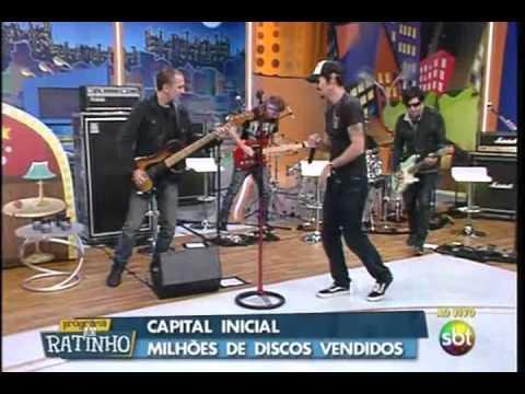 Baixar Ratinho - A Banda Capital Inicial canta Saquear Brasília e Fátima  09/04/2013