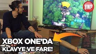 Xbox One'da klavye ve fare ile Fortnite oynadık!