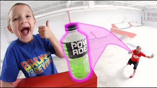 Father VS Son GAME OF BOTTLE FLIP 7!