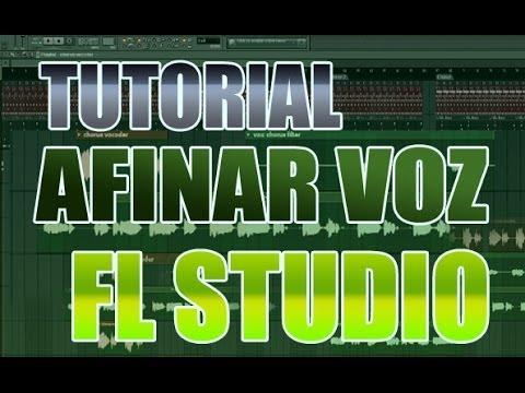 Tutorial Afinar voz en fl studio 2014