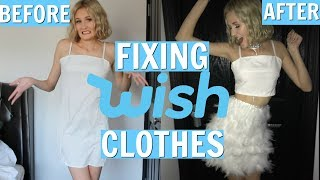 FIXING WISH CLOTHES - DIY WISH CLOTHES