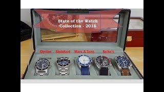 State of my Watch Collection - End of 2018