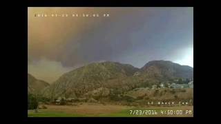 Sand Fire - Fire on the Mountain at Sylmar 7-23-2016