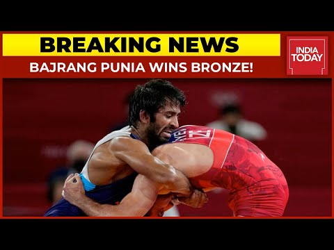 Bajrang Punia gets bronze in 65 kg freestyle wrestling at Tokyo Olympics