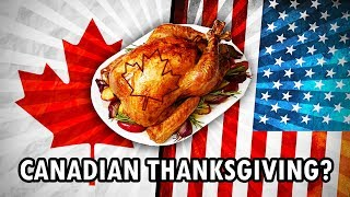 American VS Canadian Thanksgiving | Cool History