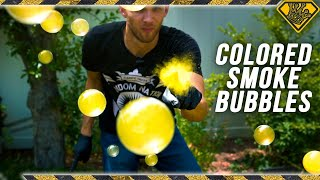Try These SMOKE Bubbles