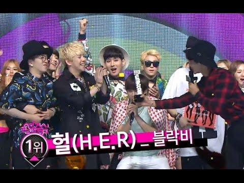 【TVPP】Block B - Winner of the Week Song at goodbye stage!, 블락비 - 음악중심 1위! @ Show! Music Core Live