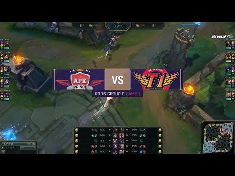[2018 LoL KeSPA Cup] SKT vs APK - 1라운드 16강 G조 하이라이트