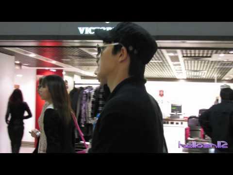 121201 Super Junior@Hong Kong Airport