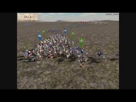 Rome Total War Online Battle #1490: Team Battle vs King_Artex & King_scipio