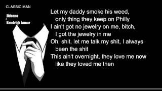 Jidenna - Classic Man (Remix) ft. Kendrick Lamar L.Y.R.I.C.S