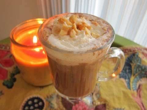Peanut Butter Hot Chocolate   A Rocky Barragan Recipe - Smashpipe style