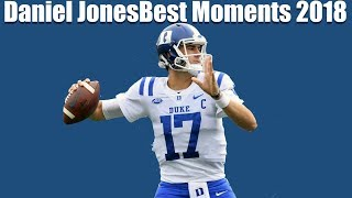 Daniel Jones NFL Calilber Throws/Runs Montage