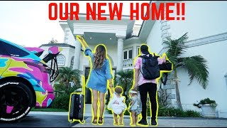 MOVING INTO THE TEAM 10 MANSION! *HOUSE TOUR*