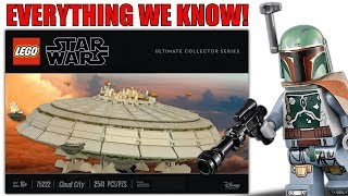 LEGO Star Wars 75222 UCS Cloud City Release Date, Price, Minifigures, and More!