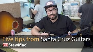 Watch the Trade Secrets Video, 5 Shop Tips From Santa Cruz Guitars