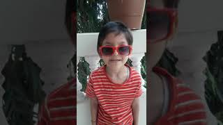 Isme Tera ghata.. funny song by kid