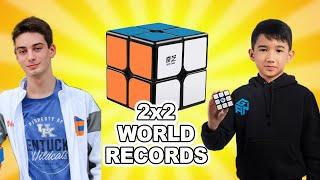 Top 10 2x2 Speedcubers 2020