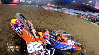 GoPro: Jordon Smith 250 Main Event Highlights - 2019 Monster Energy Supercross - Minneapolis