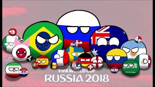World Cup Russia 2018 in countryballs #1: the Group Stages