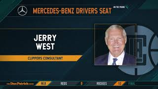 Jerry West Talks Kawhi to Clippers, Wilt, Bill Russell & More w/Dan Patrick | Full Interview