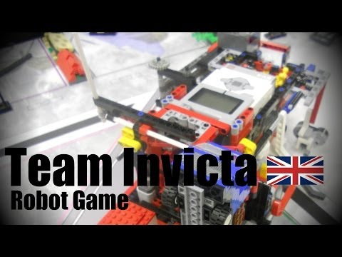 Team Invicta - FLL Nature's Fury 2014 World Festival Champion's Award winners robot - 580 points
