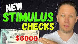 JUST APPROVED: $5000 STIMULUS CHECKS! Second Stimulus Check Update