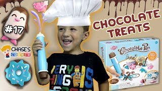 Chase's Corner: CHOCOLATE PEN - Drawing Tasty Treats (#17)   DOH MUCH FUN