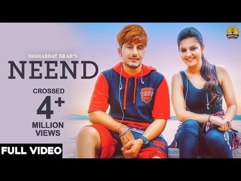 Neend (Full Video) Mohabbat Brar - New Punjabi Song