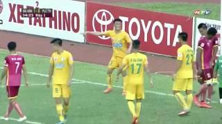 Sài Gòn FC 3 - 1 FLC Thanh Hóa (Vòng 10 V.League 2016)