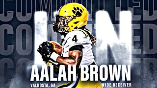"Deion Sanders has a ""PLAYMAKER WIDE RECEIVER"" in  Aalah Brown 