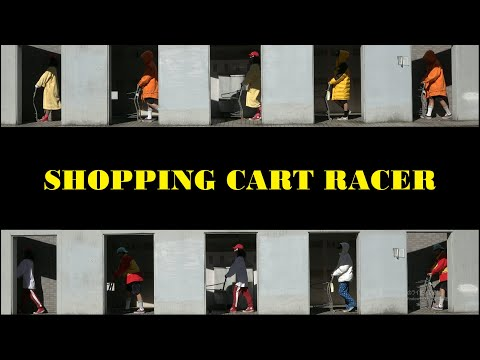 SUSHIBOYS - Shopping Cart Racer 【Official Music Video】(字幕)