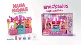 Num Noms | NEW Snackables Silly Shakes Maker | Make Your Own Slime! | :30 Commercial