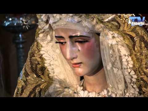 Besamanos Virgen de las Mercedes de Santa Genoveva