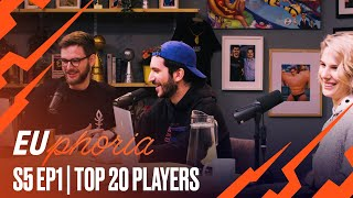 Top 20 Player Rankings | EUphoria Season 5 Episode 1