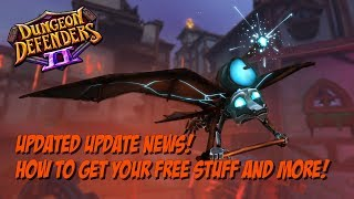 DD2 Updated Update News! How to Get Your Free Stuff!