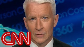 Anderson Cooper: How hard is it to apologize?