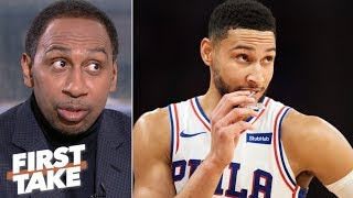 76ers say there's no truth to the Ben Simmons trade rumors – Stephen A. | First Take