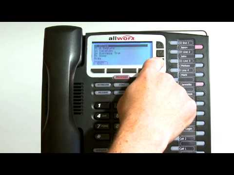 Advanced Features - Allworx End User Training.mp4