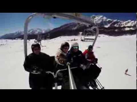 Gopro snowboard torgnon 07 03 14