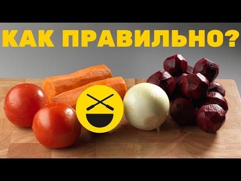 Приготовить борщ по рецепту Сталика Ханкишиева!