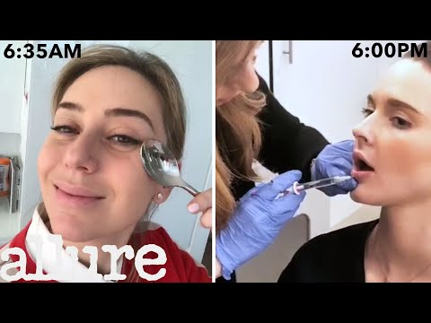 A Dermatologist?s Entire Routine, From Waking Up to Lip Injections | Work It | Allure