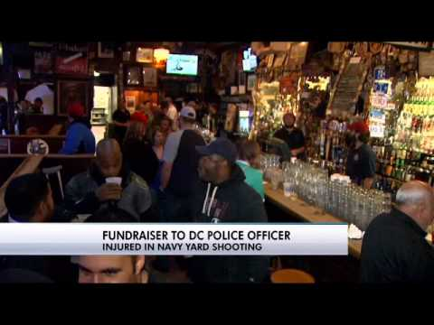 Cop shot at Navy Yard recovering with help from cop club