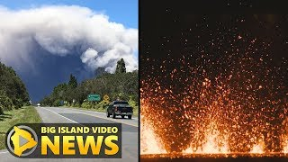 Scientists Describe Eruption At Kilauea Summit, Lower Rift (May 15, 2018)