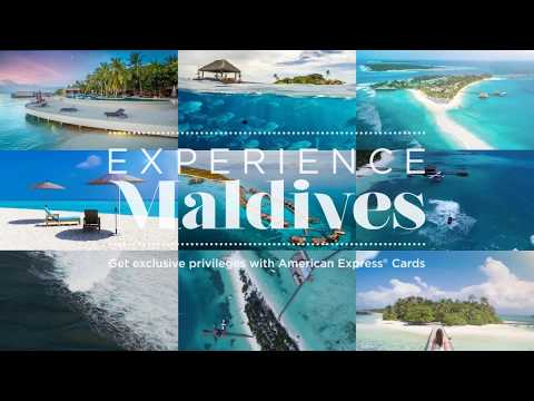 Experience Maldives with American Express®