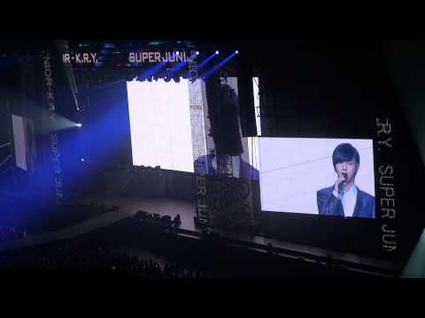 110903 SMTown Tokyo KRY Sorry Sorry Answer