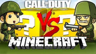 Minecraft: CALL OF DUTY WW2 LUCKY BLOCK CHALLENGE | CAPTURE THE POINTS!!