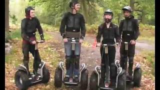 Rally cross segway