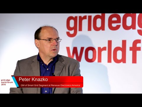 Renesas Interviewed at Grid Edge World Forum 2016